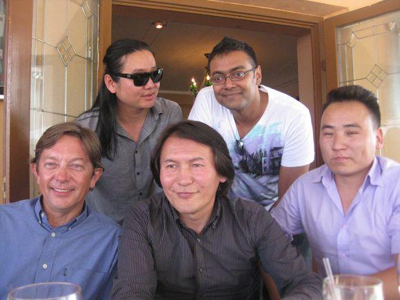 Mongolian music posse